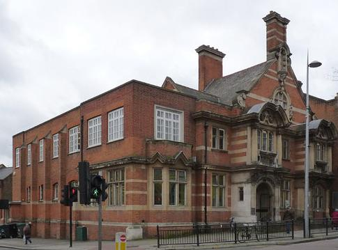 blog on Acton 1st May 2013 by Isabella Wesoly, with photo image of Acton library,  by Alan Murray-Rust